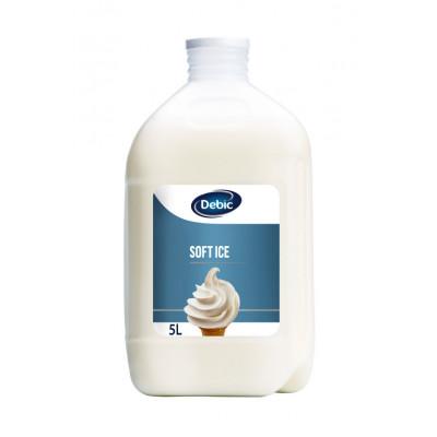 Soft ice 5 % 3 X 5 L préparation pour sundae
