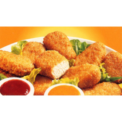 Nuggets poulet plein filet halal 5x1Kg - IQF