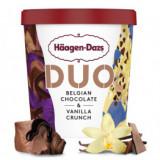 Pot- duo crème glacée chocolat belge et vanille crunch X8u