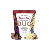 Crème Glacée Duo Chocolat Belge & Vanille Crunch