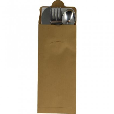 SACHET COUV. INOX 4/1 (cout+four+cuil+serv) X100