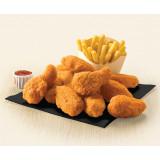 Ailes de poulet hot and spicy halal 5X1kg - IQF