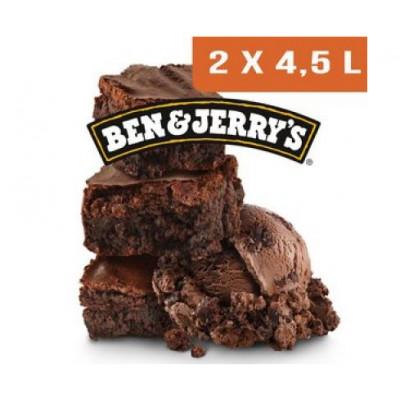 CHOCOLAT FUDGE BROWNIE 4.5 L X 2