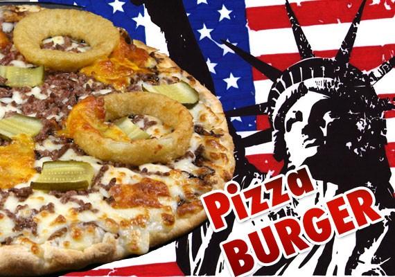 La pizza burger