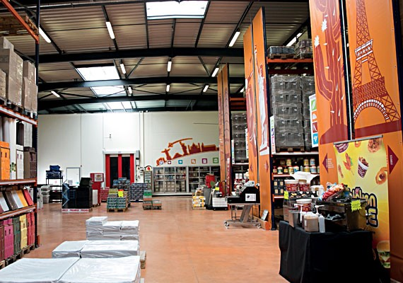 Magasin Cash and Carry Distram Lyon