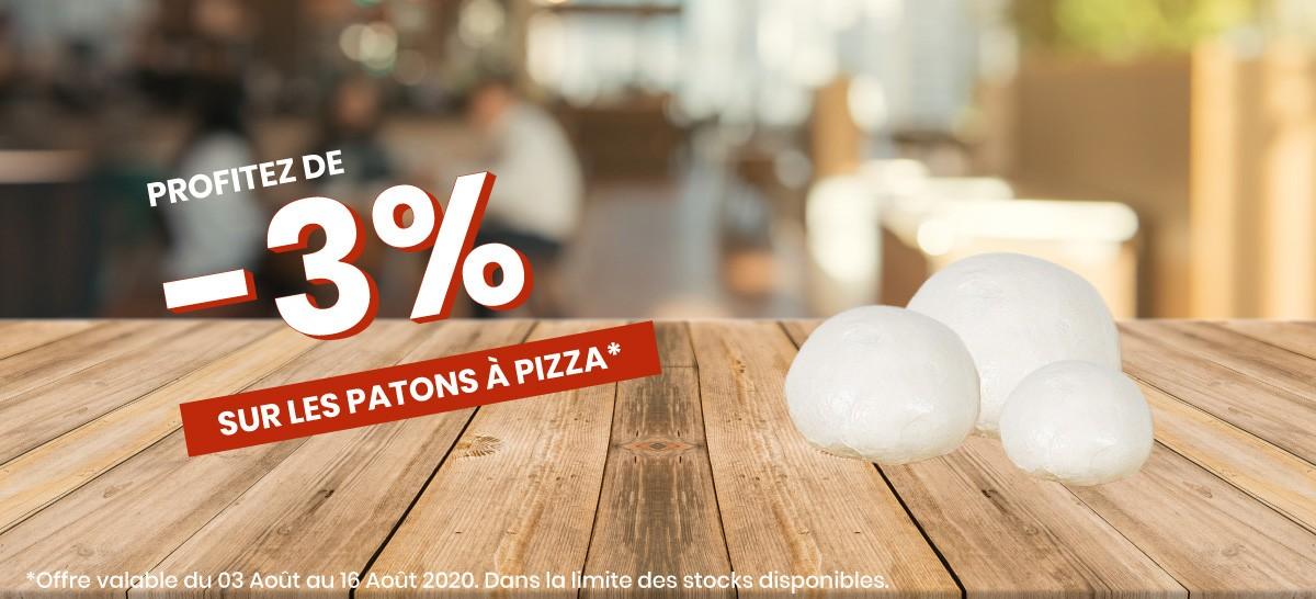 Patons à pizza